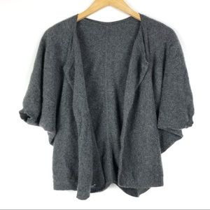 VINCE cashmere cardigan sweater Small gray t513